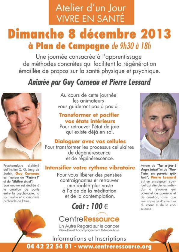 Guy CORNEAU e& Pierre LESSART à AIX