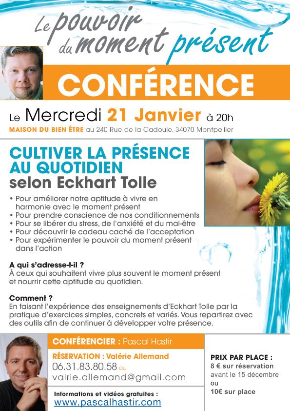PUB_CONFERENCE_Presence-Quotidien_21-janvier-2014_Montpellier