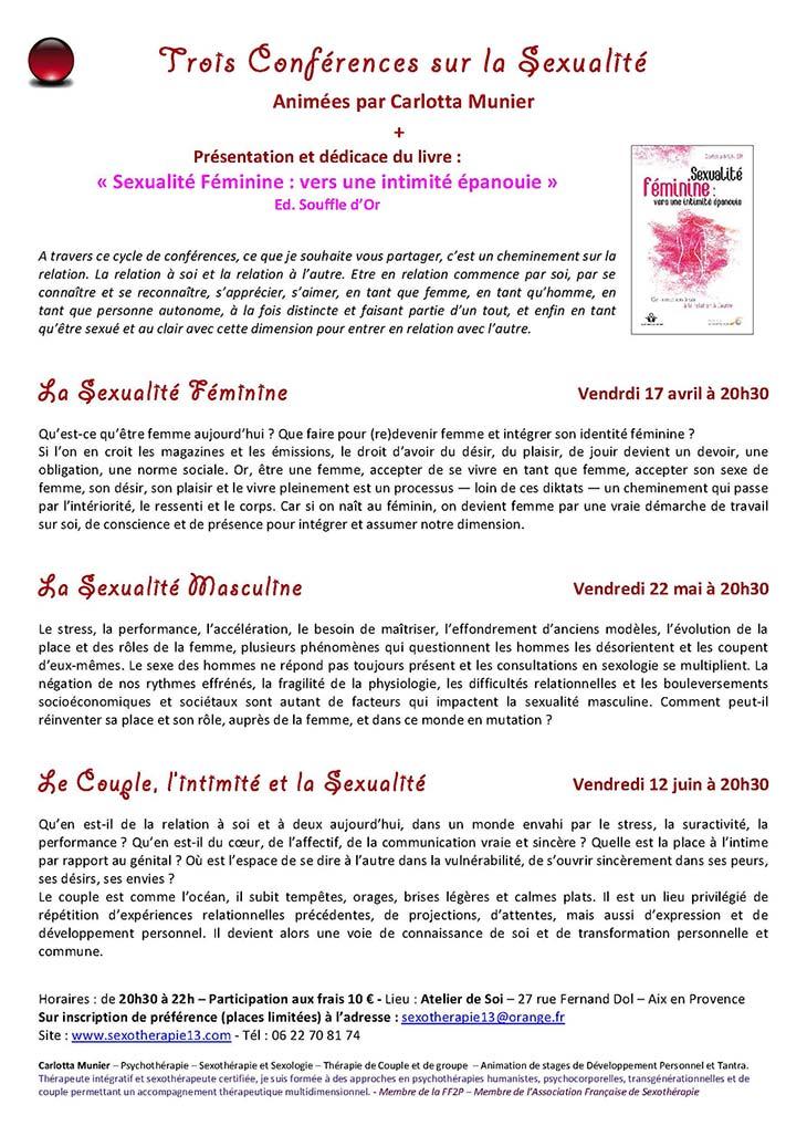 ConférencesSexualitéprintemps2015
