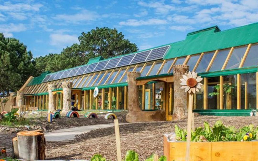 Une école 100% écolo qui enseigne aux enfants le développement durable
