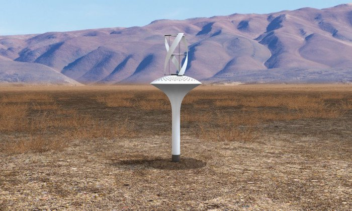 Planète  Water Seer : une éolienne qui fabrique de l'eau potable