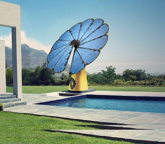 """""""La smartflower"""" le premier générateur photovoltaique intelligent.."""