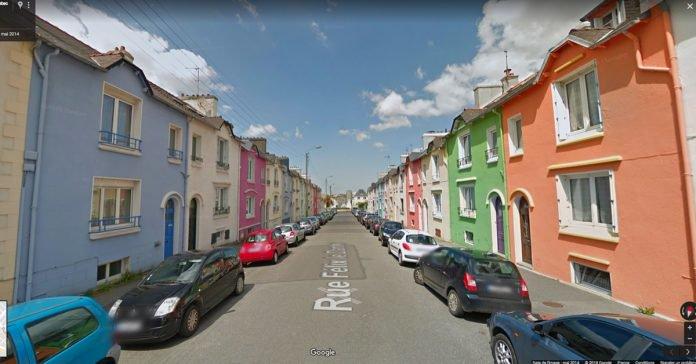 À Brest, les habitants sont payés pour repeindre leur maison