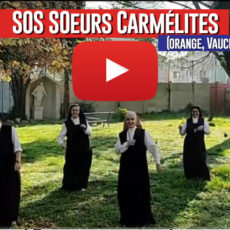 Soutien aux  Sœurs Carmélites (Vaucluse)