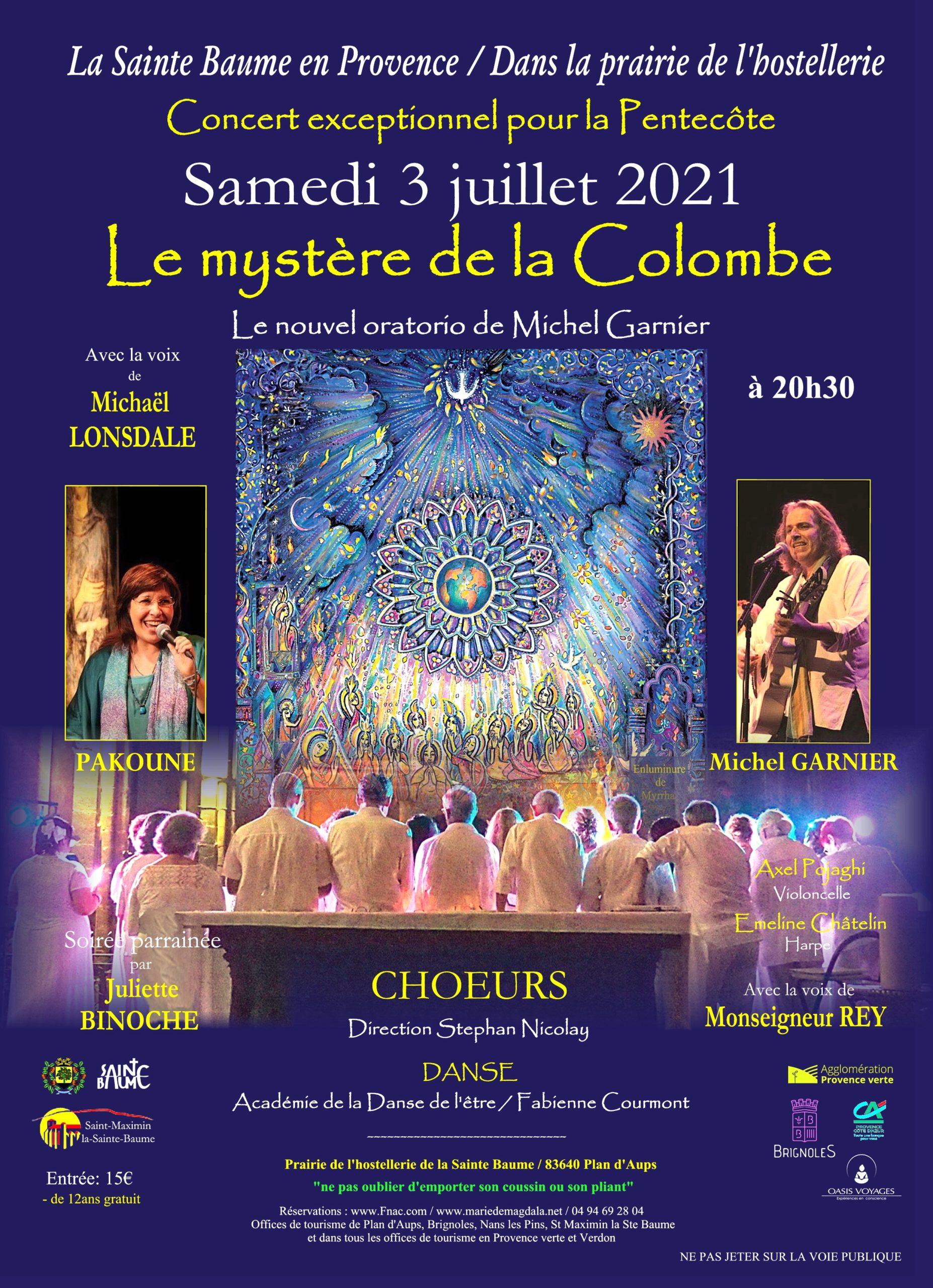 """Concert """"Le Mystère de  la colombe"""""""